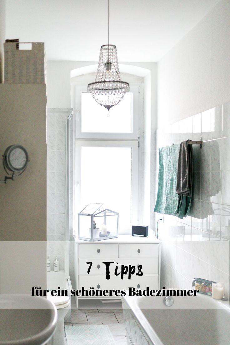 Unser Badezimmer 7 Tipps Mit Denen Ihr Euer Badezimmer Verschonern Konnt Badezimmer Badezimmer Gestalten Badezimmer Einrichtung