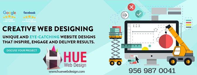 Pin By Huewebdesign On Digital Marketing Website Design Company Creative Web Design Website Design