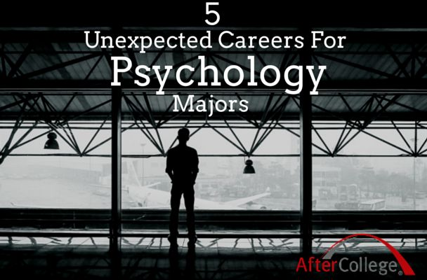 Choosing a major can sometimes feel like you're limiting your career options. We wanted to show you that that isn't necessarily the case. These five graduates all majored in psychology and yet took completely different career paths post-graduation. Check out where they went after college and how they applied their psychology majors to their jobs.