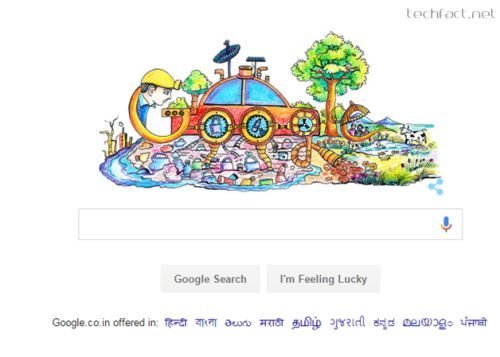 Childrenu0027s Day Doodle 4 Google U2013 India Winning Entry Featured On Googleu0027s  Home Page