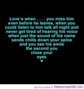 Miss You And Love You Quotes Classy 70 Best I Miss Him Images On Pinterest  Miss Me Quotes I Miss You