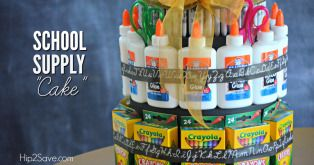 "School Supply ""Cake"" (Back to School Gift Idea)"
