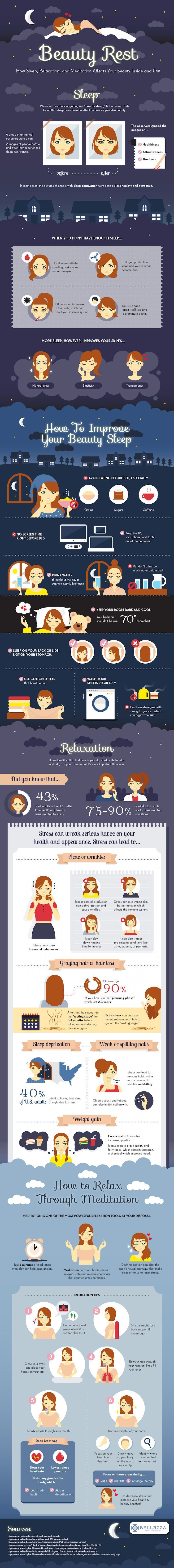Beauty sleep is not a myth! As vain as it may sound, the benefits of beauty rest are very real.
