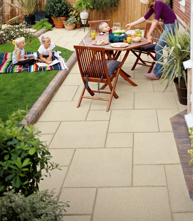 17 Best Images About Patio Slabs Paving On Pinterest