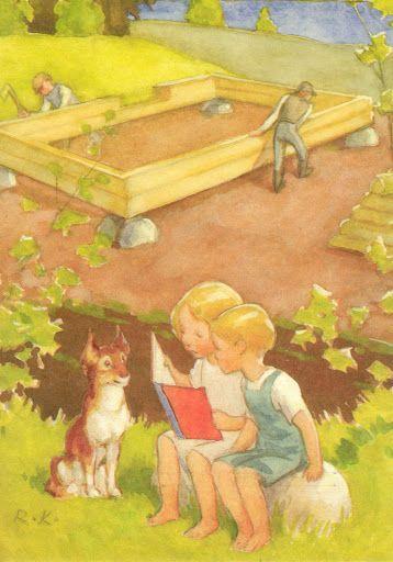 Rudolf Koivu - children reading