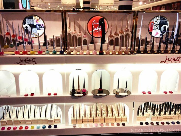 Christian Louboutin Nail Colour Collection: http://arzanbeauty.blogspot.ca/2014/11/christian-louboutin-nail-colour.html #nails #cl #sephora