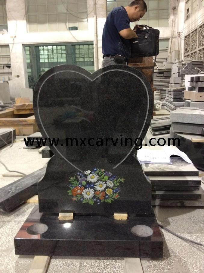 Heart Models Granite Headstone Uk Granite Memorials