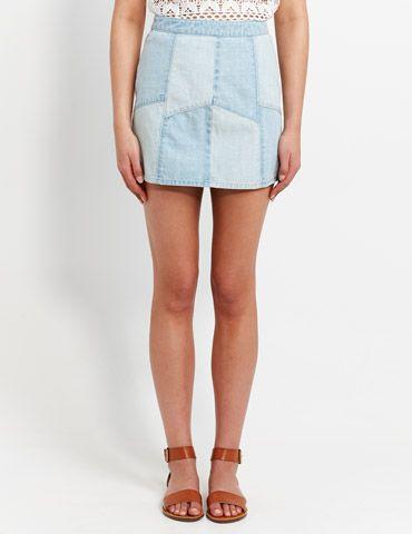 Jagger Panel Mini Skirt