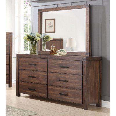 Coaster Furniture Lancashire 6 Drawer Dresser - COA3633-2 #coasterfurnituredressers #coasterfurnituredrawers