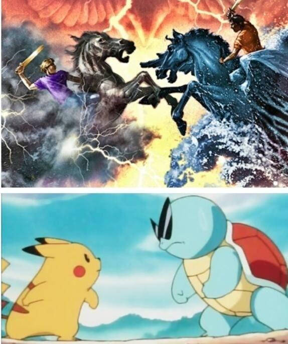 Lol Pokemon and PJO fandom