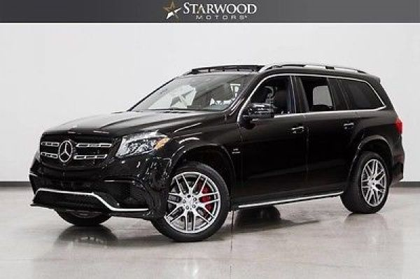 2017 Mercedes-Benz GL-Class Used 2017 Mercedes GLS AMG GLS63 Black Leather Sunroof Premium 1 Package
