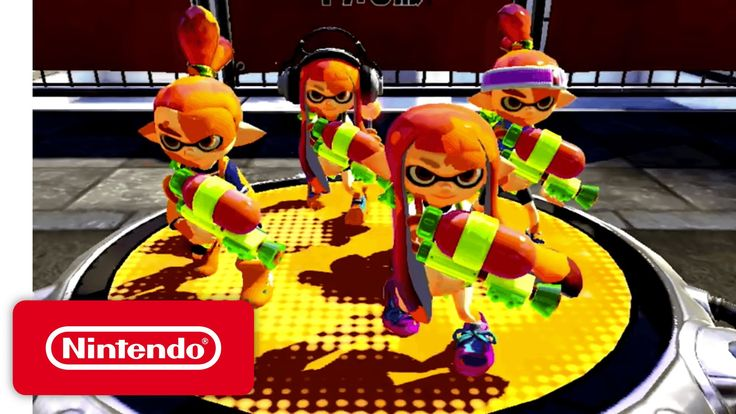Check out the announcement game trailer for Splatoon. Play it exclusively on Wii U! Get messy with more Splatoon: http://splatoon.nintendo.com/ Check out mor...
