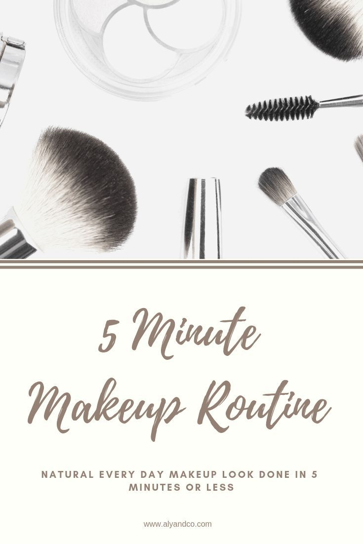 My 5 Minute Makeup Routine In 2020 Makeup Routine 5 Minute Makeup Natural Hair Mask