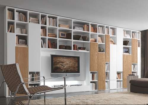 Amazing modern wall media unit
