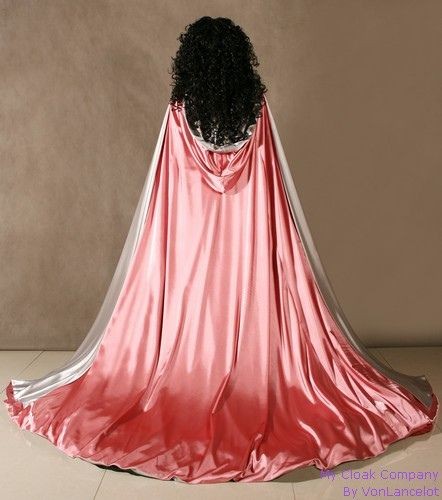 The everines pink cloak