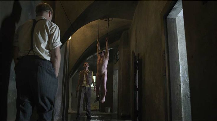 "Torture scene from the ""Killing of a Comrade"".  #cameraman prague #prague cinematographer #czech film"