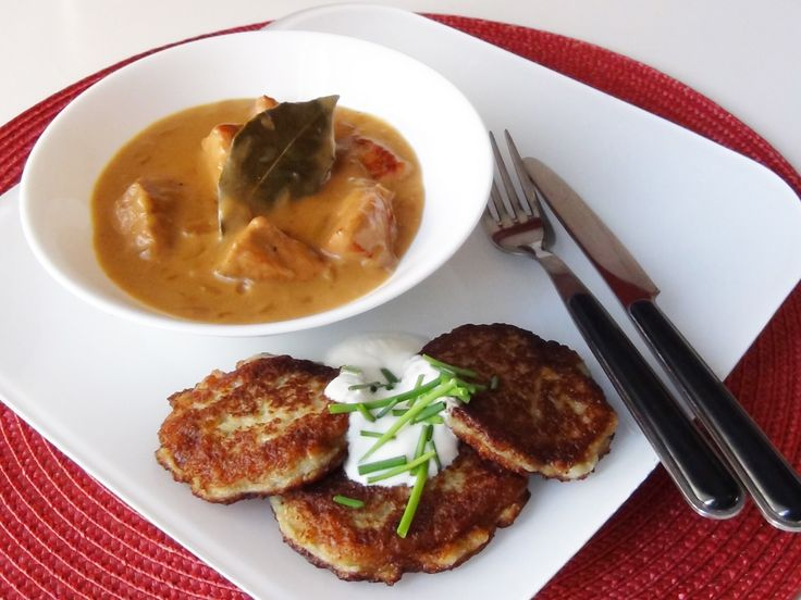 E: Just used this Machanka recipe. Jordan really liked it. Would be good over rice. Belarus food: Machanka with Draniki !
