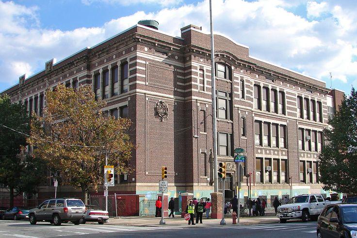 James Russell Lowell School in North Philadelphia, Pennsylvania.
