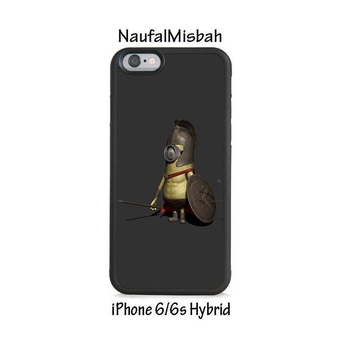 Spartan Despicable Me Minion iPhone 6/6s HYBRID Case Cover