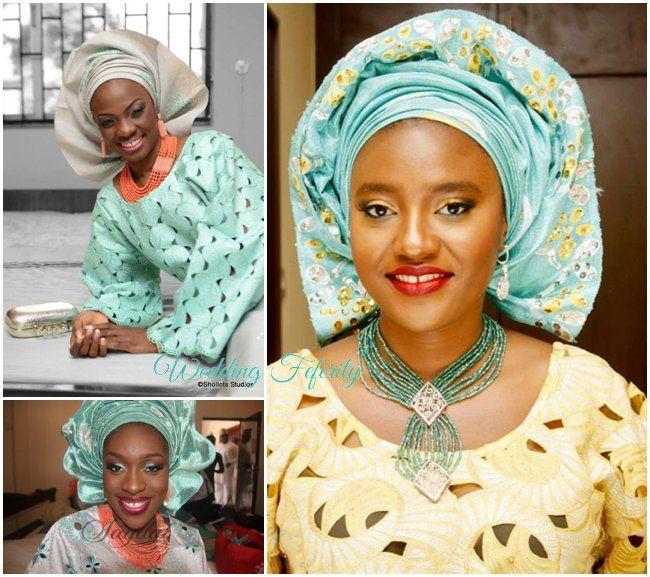 Green Yoruba Wedding Inspiration Board As Seen On Feferity