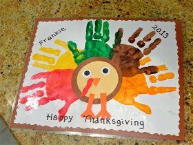 Terrific Preschool Years Thanksgiving Placemats Craft