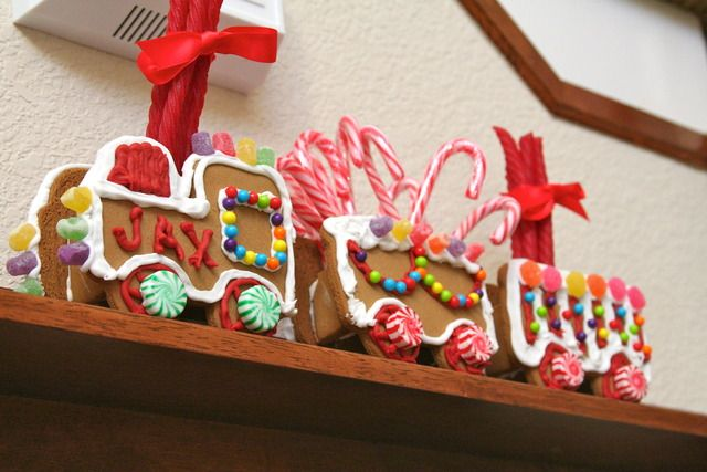 Choo choo gingerbread train!