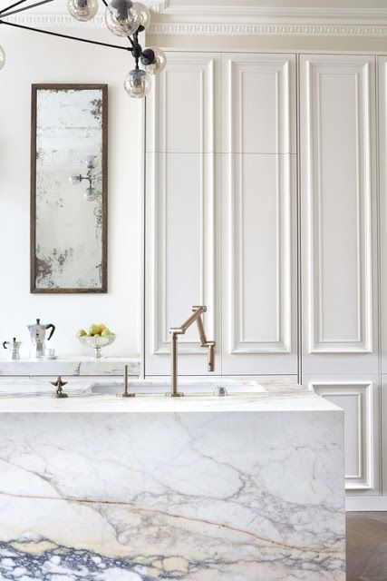 South Shore Decorating Blog: A Gorgeous All White Notting Hill Townhome