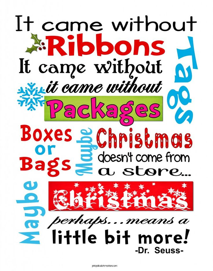 Whimsical Christmas Free Printables! @Jodi Fitch This made me think of you and your tree. :)
