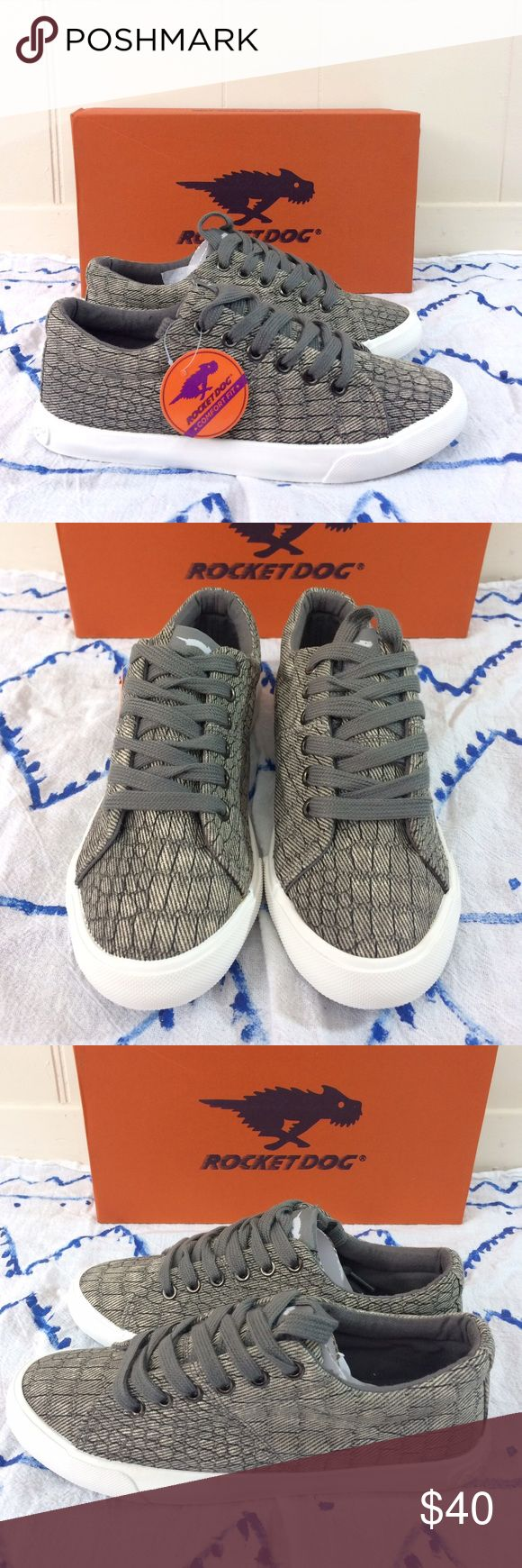 "NWT❣️ Rocket Dog | ""Campo"" Casual Sneakers ✨New in the box!✨ • Rocket Dog ""Campo"" casual sneakers. • In the color "" Grey Scales"". • Size 6. • {If you have any questions please ask before buying.} •Colors may vary slightly from pictures• Rocket Dog Shoes Sneakers"