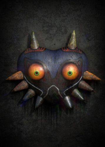 Majoras Mask, displate metal canvas for sale… #displate… #siriusreno #zelda