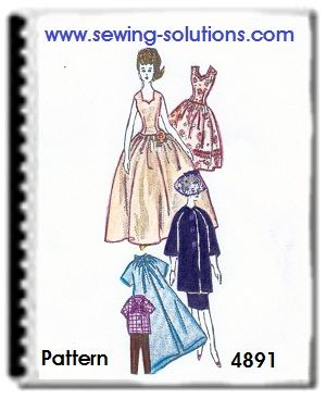 free barbie sewing patterns