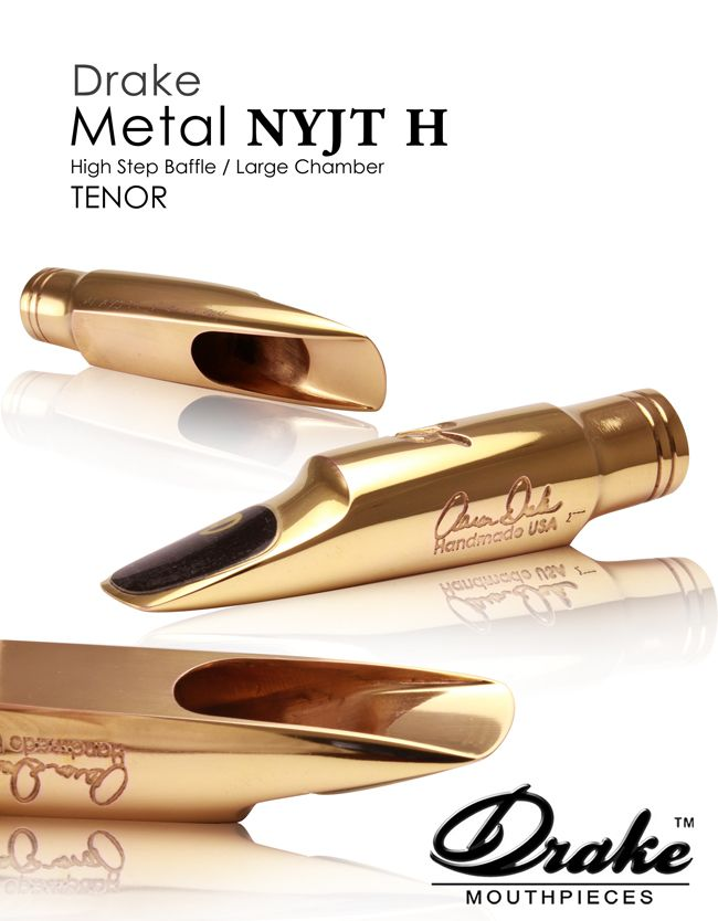 Drake Metal Mouthpiece : Saxophone Mouthpieces : Tenor Sax Mouthpiece : http://www.drakemouthpieces.com/Drake_Metal_Mouthpieces.html