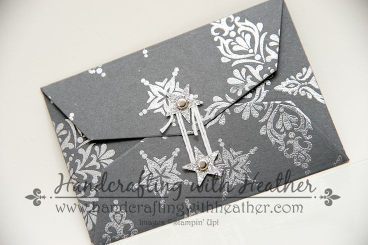 Gift Card Envelop & Trims Thinlits Dies | Handcrafting with Heather