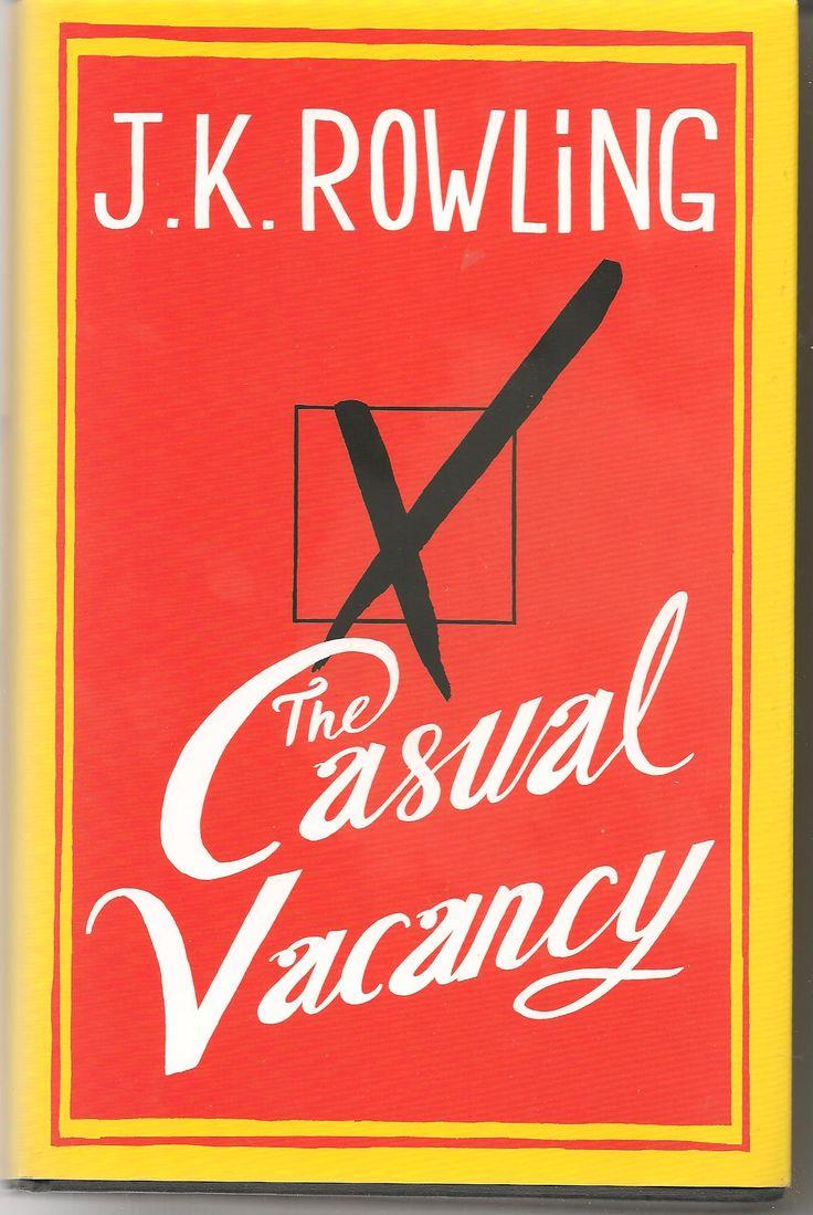casual vacancy cover design - Hľadať Googlom