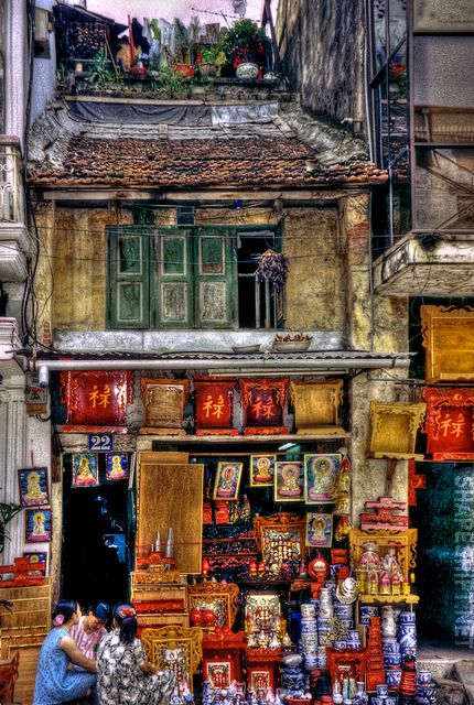 An ancient building ~ Hanoi