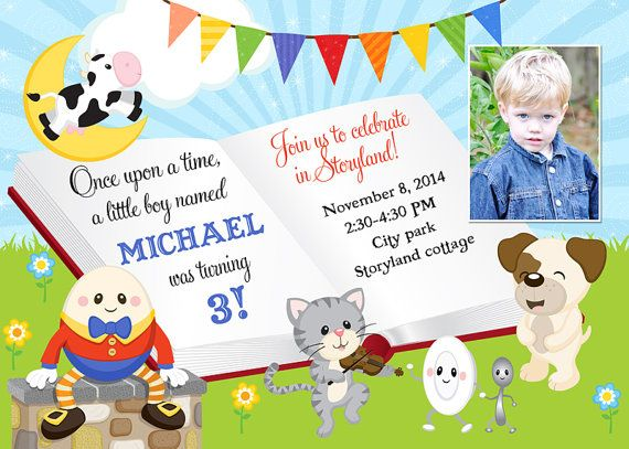 17 Best images about Boy Birthday Party Ideas – Birthday Invitation Rhyme