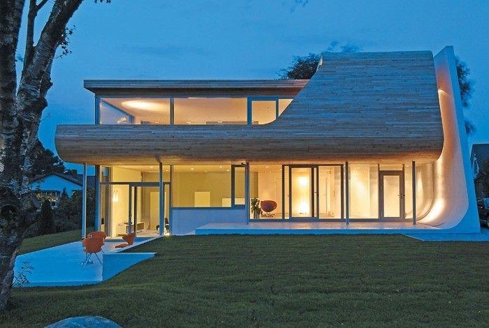 Maisons et chalets de l'architecte norvégien Tommie Wilhelmsen