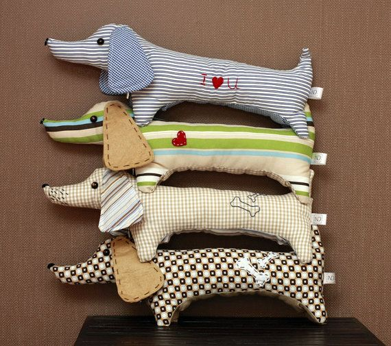 My mom would love these handmade dog dachshund by MyHouseOfDreams on Etsy, $19.00