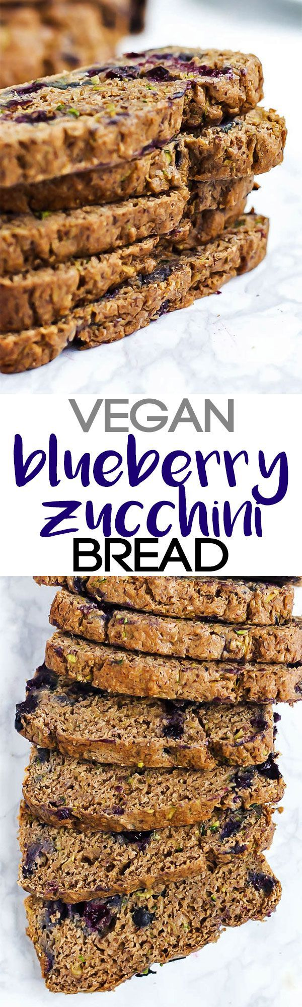 Enjoy this whole-grain Vegan Blueberry Zucchini Bread for a nutritious…