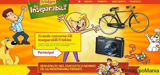 Concorso a premi Friskies: vinci City bike Atala Dei Imperiale e Macchine fotografiche digitali Canon S110  - http://www.omaggiomania.com/concorsi-a-premi/concorso-premi-friskies-vinci-city-bike-atala-dei-imperiale-macchine-fotografiche-digitali-canon-s110/