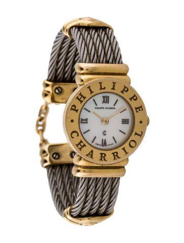 Philippe Charriol St-Tropez Cable Bracelet Watch