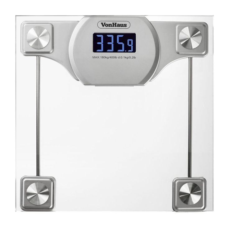Digital Bathroom Scale Glass Silver Body Weight Scale LCD Display 400lbs 180kg  VonHaus. 1000  ideas about Weight Scale on Pinterest   Abdominal exercises