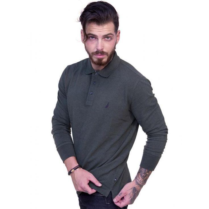 NAUTICA Ανδρική πικέ πόλο μπλούζα