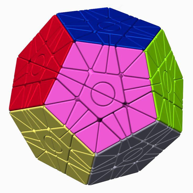 WitEden Greg & Felix 2x2 Megaminx stickerless [WE2MX6] - $63.99 : Champion's Cube Store