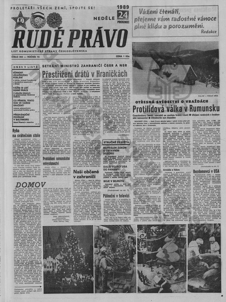 1989 Štědrý den