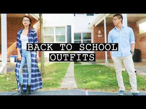 Back to School Outfits with Dorice Lee | Trioo