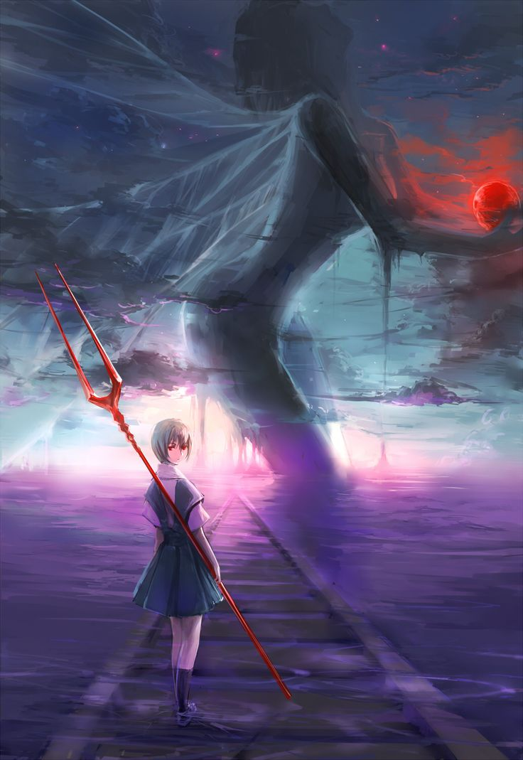 Rei with Spear of Longinus