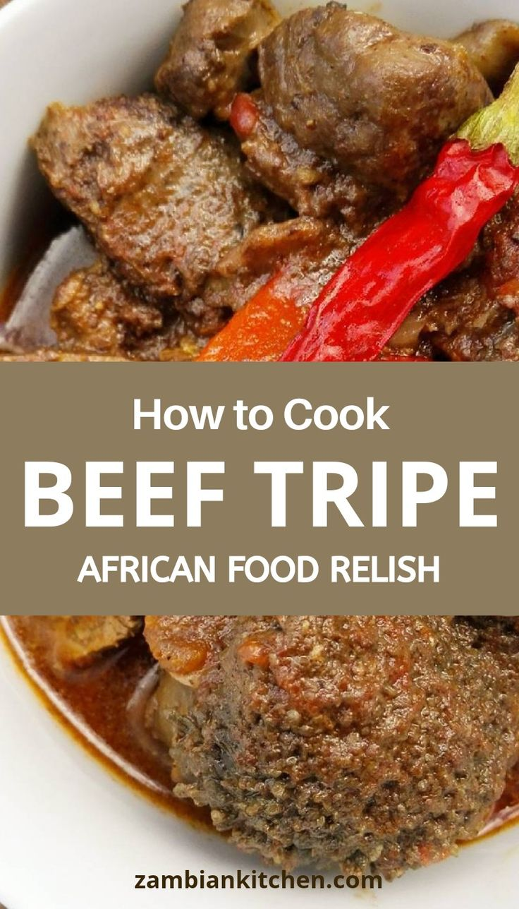 How to Cook Offals-Beef Tripe Recipe | How to cook beef ...