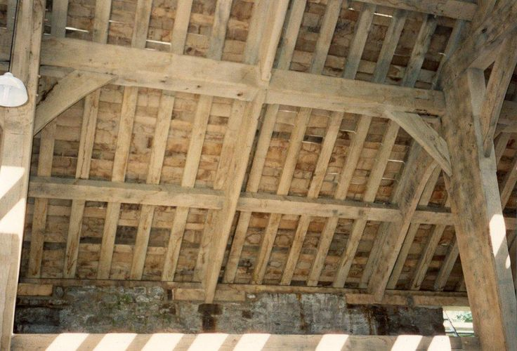 Venables Oak used in restoration of Airedale Barn