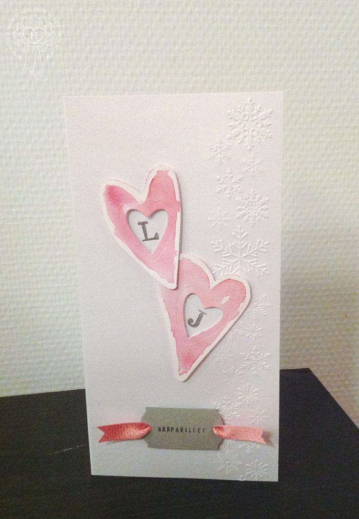 Hääkortti / Card for a winter wedding